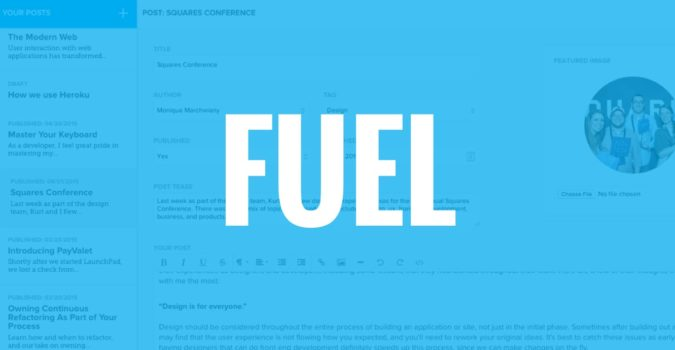 Fuel Blogging
