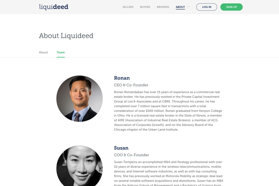 about liquideed site