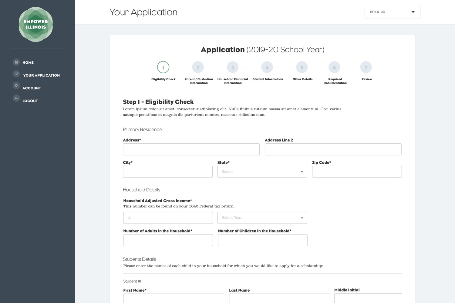 Empower Illinois - Application