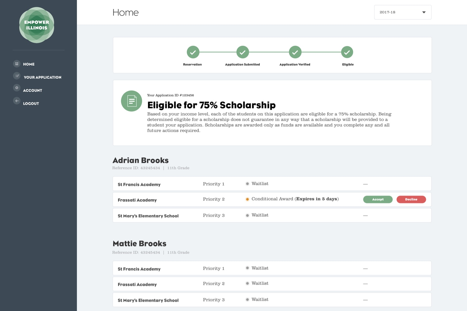 Empower Illinois - Student Portal