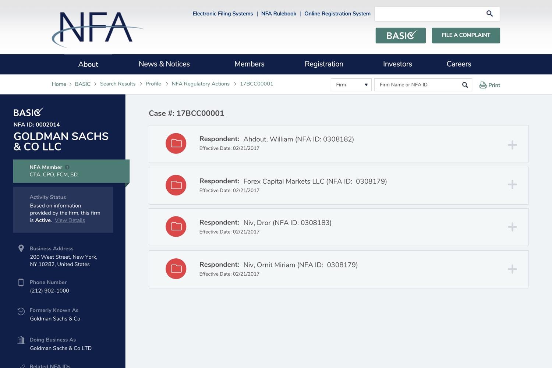NFA - Cases