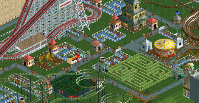 RollerCoaster Tycoon Park