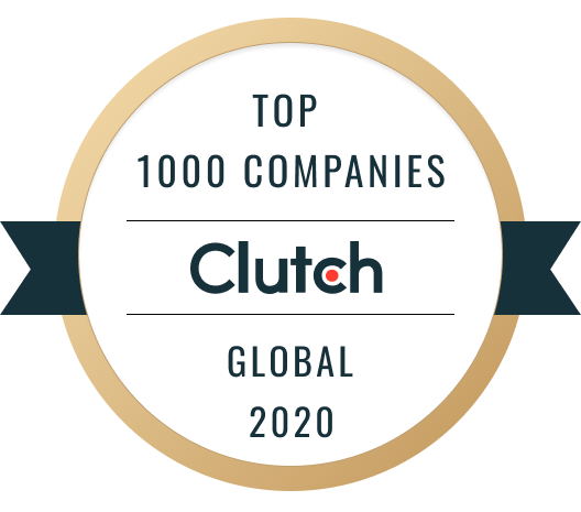 Clutch Top 1000 Companies Global list.
